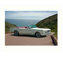 1965 Ford Mustang Convertible Art Print