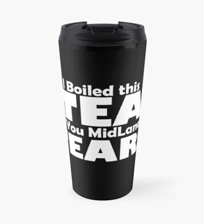 Bad Manners Mugs - Black Travel Mug