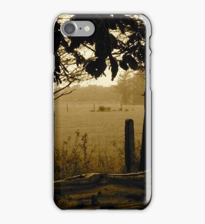 Rain in the Trees - Castle Marter, Ireland iPhone Case/Skin