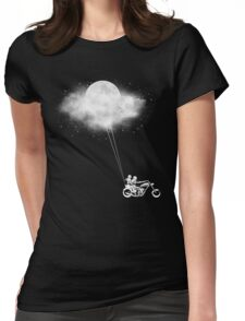 Told You I'll Bring You The Moon! Womens Fitted T-Shirt