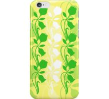 Layered Floral Silhouette Print (8 of 8 please see description) iPhone Case/Skin