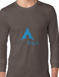 Archlinux Logo Long Sleeve T-Shirt