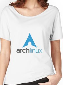 Archlinux Logo Women's Relaxed Fit T-Shirt