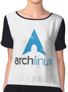 Archlinux Logo Chiffon Top