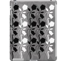 Layered Floral Silhouette Print (5 of 8 please see description) iPad Case/Skin
