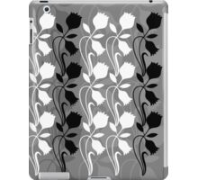 Layered Floral Silhouette Print (6 of 8 please see notes) iPad Case/Skin