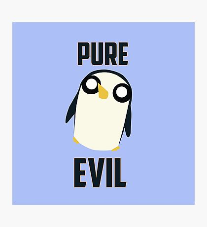Evil is cute Photographic Print