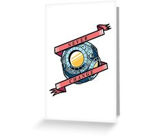 Never Change T-Cog Greeting Card