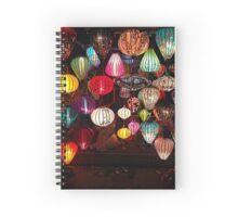 Vietnamese Lanterns Spiral Notebook