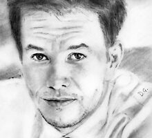 mark wahlberg... pencil by danijelg