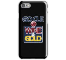 GO CLE Wine & Gold iPhone Case/Skin