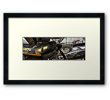 Vanquished and Victor Framed Print