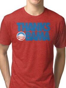 Thanks Obama Tri-blend T-Shirt