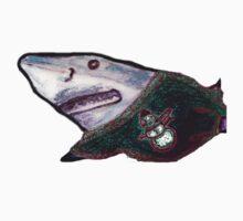 Christmas shark Baby Tee