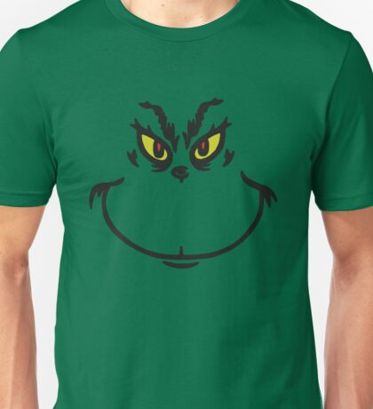Grinch Face Unisex T-Shirt