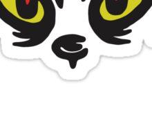 Grinch Face Sticker
