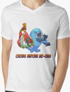 Crows Before Ho-Ohs Mens V-Neck T-Shirt