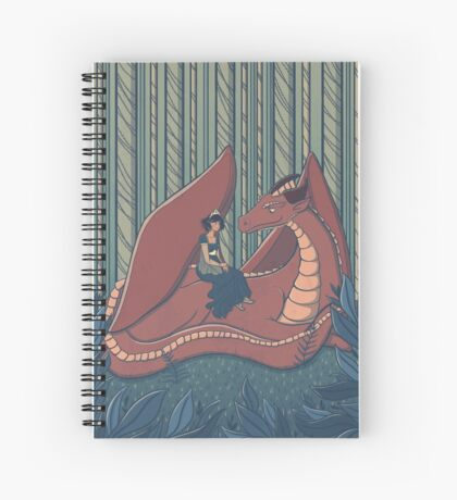 Dragon Whispers Spiral Notebook