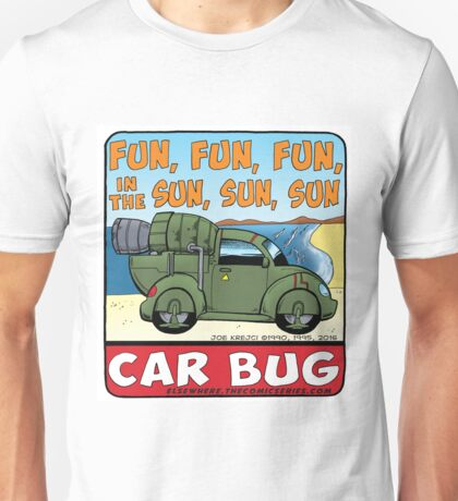 Car Bug under a Red Dwarf Star Unisex T-Shirt