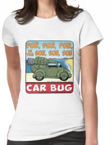 Car Bug under a Red Dwarf Star Womens Fitted T-Shirt