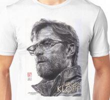 Jurgen Klopp - Liverpool FC - Hand Drawn Portrait Unisex T-Shirt
