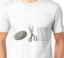 Rock Scissors Paper Unisex T-Shirt