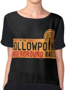 Underground Radio Chiffon Top