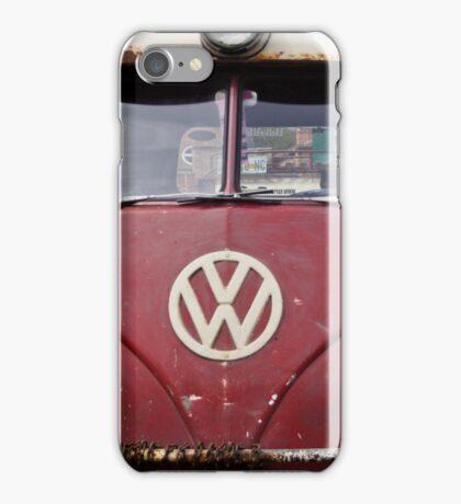 Red VW Splitscreen iPhone Case/Skin
