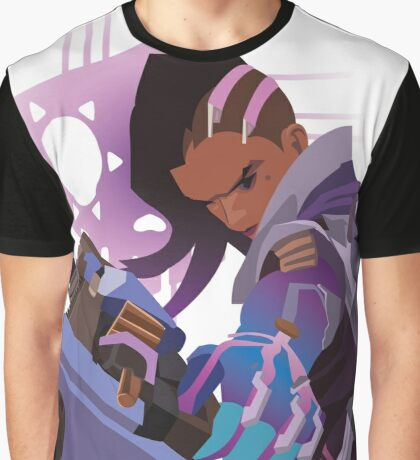 Sombra hacking the world Graphic T-Shirt