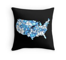 Cross Country iPhone / Samsung Galaxy Case Throw Pillow
