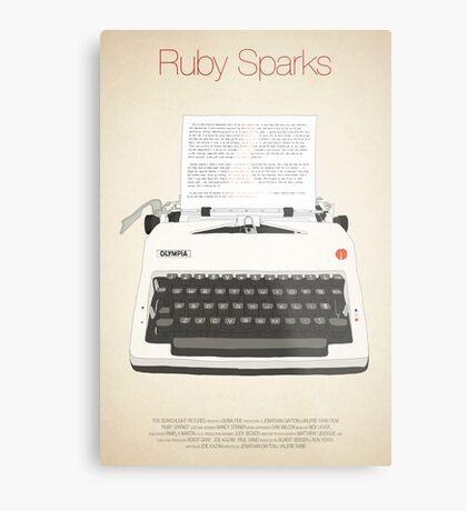 Ruby Sparks Metal Print