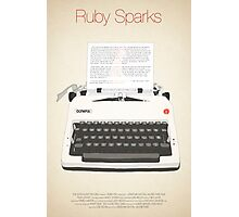 Ruby Sparks Photographic Print