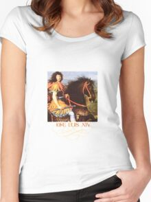 Louis XIV (The Sun King) of France Women's Fitted Scoop T-Shirt