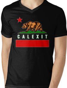 CalExit Mens V-Neck T-Shirt