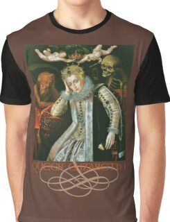 Queen Elizabeth I of England (Old Age) Graphic T-Shirt