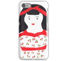 Retro Rockabilly Nesting Doll iPhone Case/Skin