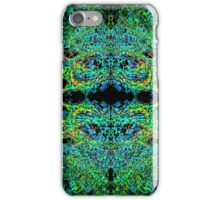 Psychedelic Sphere 2 green iPhone Case/Skin