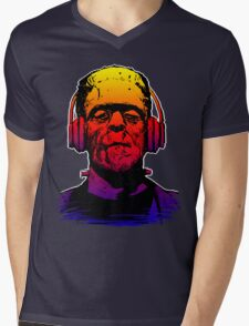 Chillinstein Mens V-Neck T-Shirt