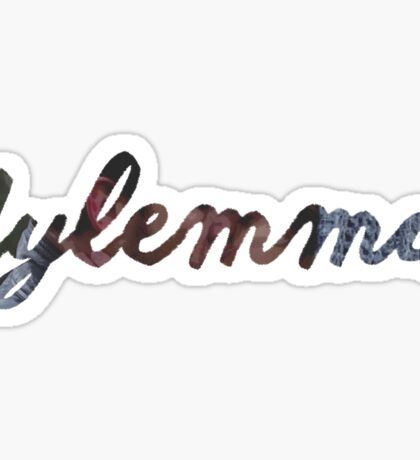 Bates Motel Dylemma Shipname Sticker