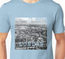 Aerial view of London Unisex T-Shirt