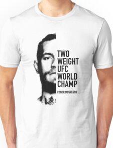 McGregor  Two-weight UFC world champion Unisex T-Shirt