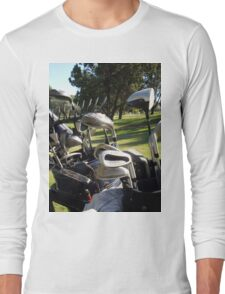 Golf, Any Day is A Good Day For Golf. Long Sleeve T-Shirt