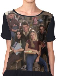 Freaks and Geeks Chiffon Top