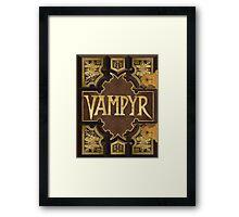Vampyr Book Framed Print