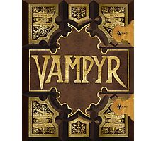 Vampyr Book Photographic Print