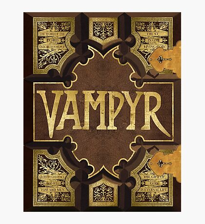 Vampyr Book Photographic Print