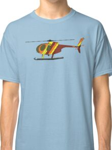 Hughes 500D Helicopter Classic T-Shirt