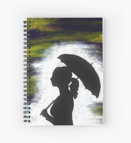 Mysterious Mistress Spiral Notebook