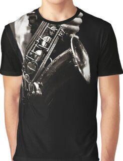 Saxophonist - Jazz Graphic T-Shirt