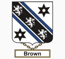 Brown Coat of Arms (English) by coatsofarms